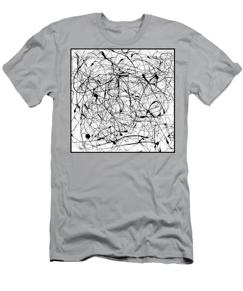 Universal Painting Men's T-Shirt (Slim Fit) by Ismael Cavazos