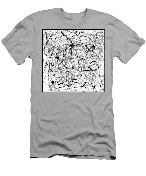 Universal Painting Men's T-Shirt (Athletic Fit)