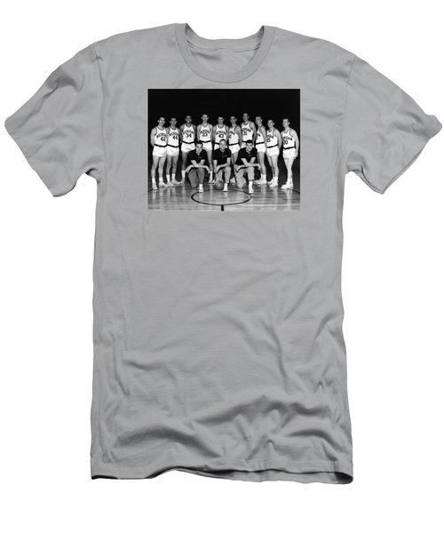 University Of Michigan Basketball Team 1960-61 Men's T-Shirt (Athletic Fit)