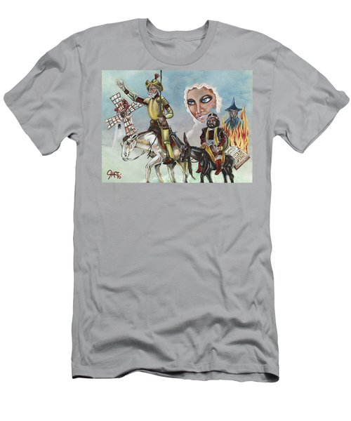 Men's T-Shirt (Slim Fit) featuring the painting Unreachable Star by JA George AKA The GYPSY