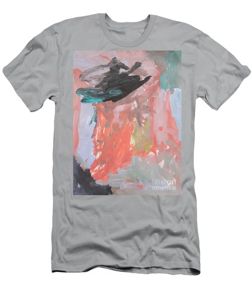 Untitled #11  Original Painting Men's T-Shirt (Athletic Fit)