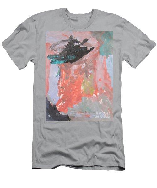 Untitled #11  Original Painting Men's T-Shirt (Athletic Fit)