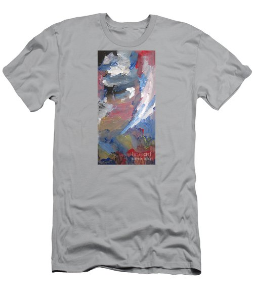 Untitled 141 Original Painting Men's T-Shirt (Athletic Fit)