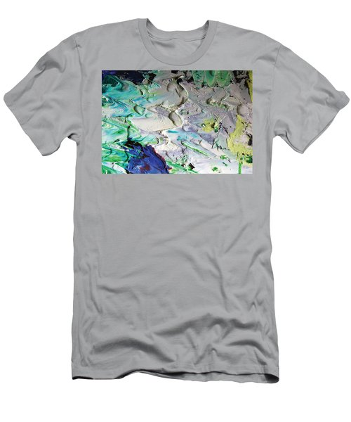 Untitled Abstract With Droplet ## Men's T-Shirt (Athletic Fit)