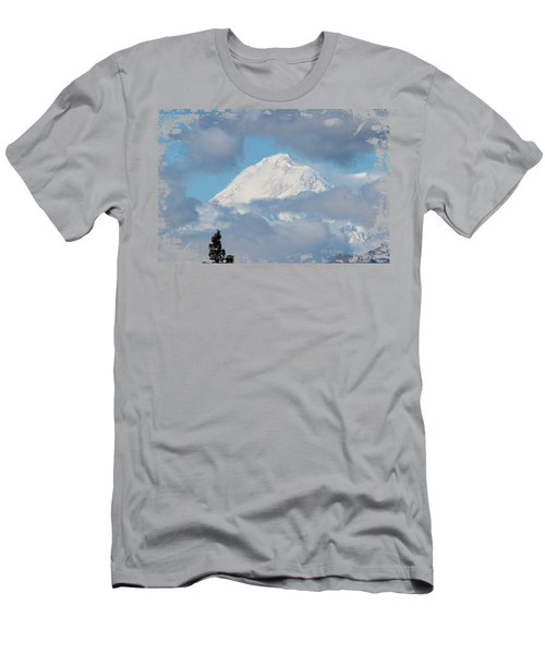 Up In The Clouds Men's T-Shirt (Slim Fit) by Di Designs