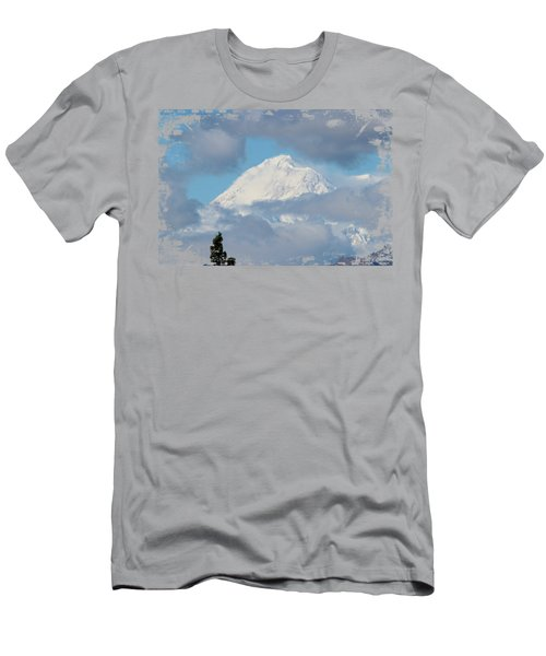 Up In The Clouds Men's T-Shirt (Athletic Fit)