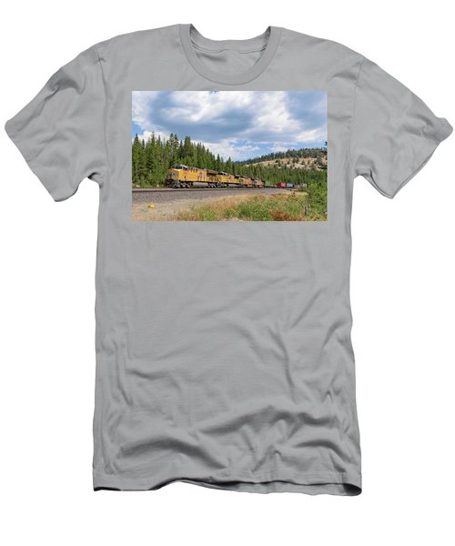 Up2650 Westbound From Donner Pass Men's T-Shirt (Athletic Fit)