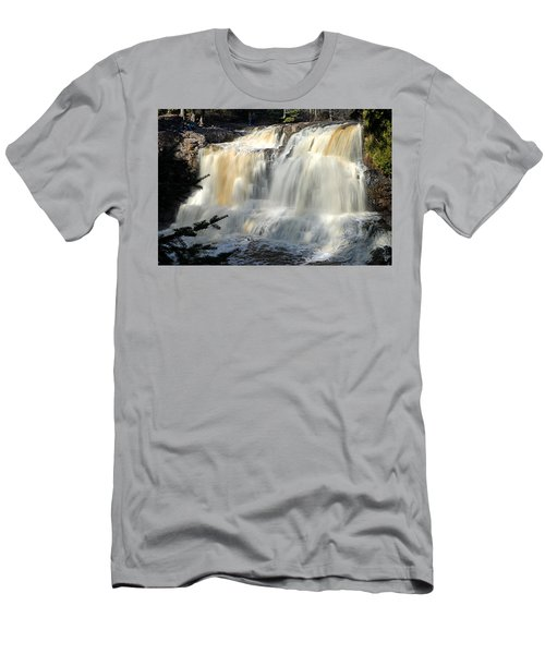 Upper Falls Gooseberry River Men's T-Shirt (Athletic Fit)