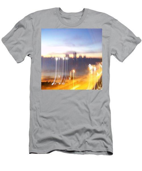Uptown Toronto - Friday Night Men's T-Shirt (Athletic Fit)