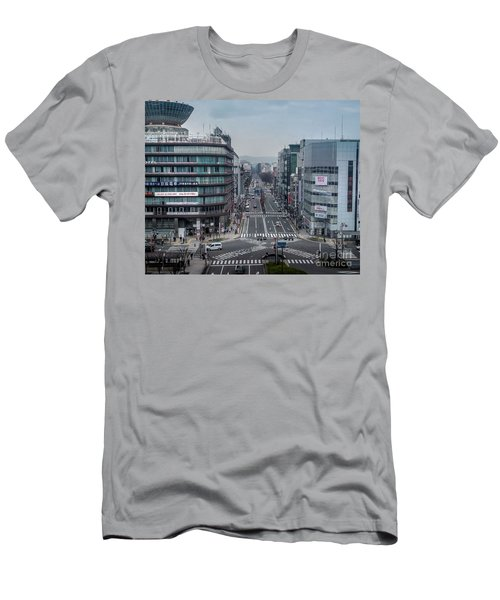 Urban Avenue, Kyoto Japan Men's T-Shirt (Athletic Fit)