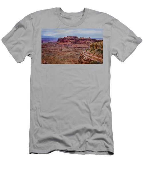 Utah Canyon Country Men's T-Shirt (Athletic Fit)