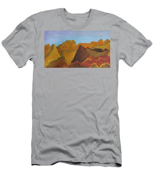 Utah Mountains Men's T-Shirt (Slim Fit) by Don Koester