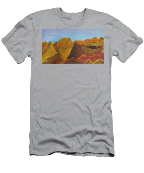 Utah Mountains Men's T-Shirt (Athletic Fit)