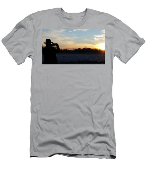 Valentines Sunrise Men's T-Shirt (Athletic Fit)