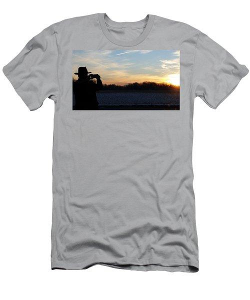 Valentines Sunrise Men's T-Shirt (Athletic Fit)