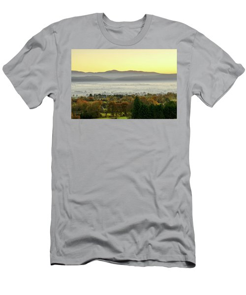 Valley Of Mist Men's T-Shirt (Athletic Fit)