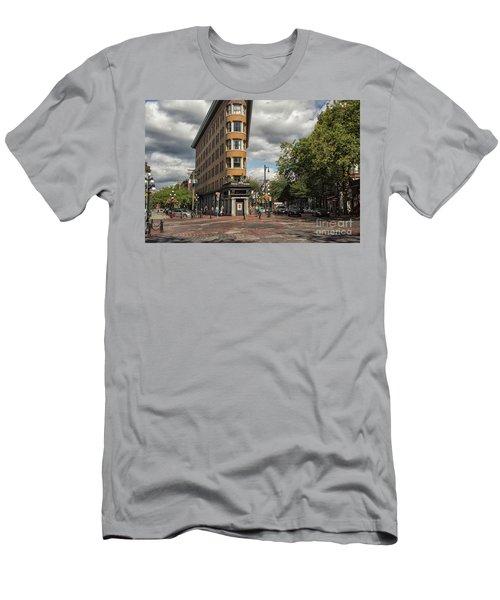 Vancouver City Life Men's T-Shirt (Slim Fit) by Patricia Hofmeester