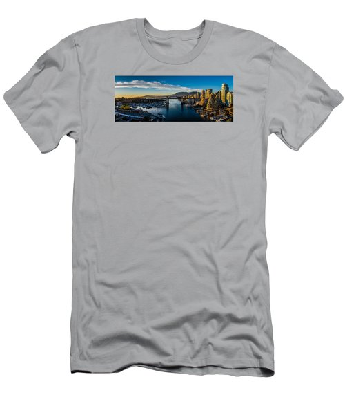 Vancouver Sunset Men's T-Shirt (Athletic Fit)