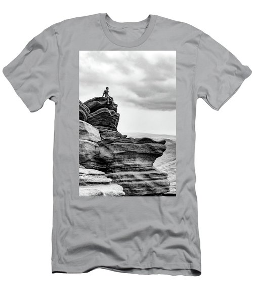 Men's T-Shirt (Athletic Fit) featuring the photograph Vantage Point by Nick Bywater