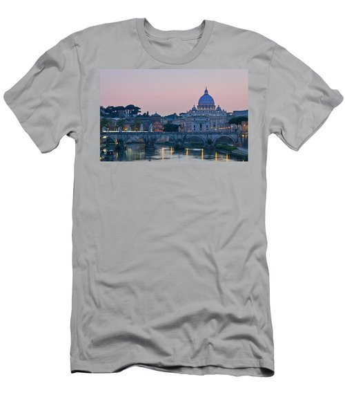 Vatican City At Sunset Men's T-Shirt (Athletic Fit)
