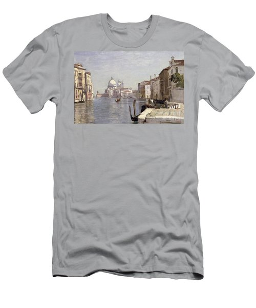 Venice - View Of Campo Della Carita Looking Towards The Dome Of The Salute Men's T-Shirt (Athletic Fit)