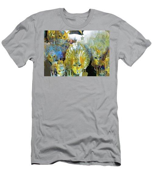 Venice Carnival Masks Men's T-Shirt (Athletic Fit)
