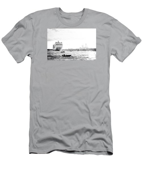 Venice In The Age Of Mass Tourism Men's T-Shirt (Athletic Fit)