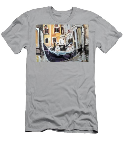 Venice Party Men's T-Shirt (Athletic Fit)