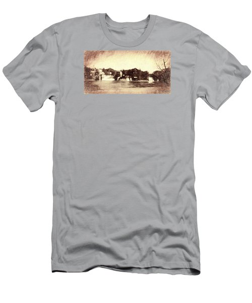Vergennes Falls, Vt 2015 Men's T-Shirt (Athletic Fit)