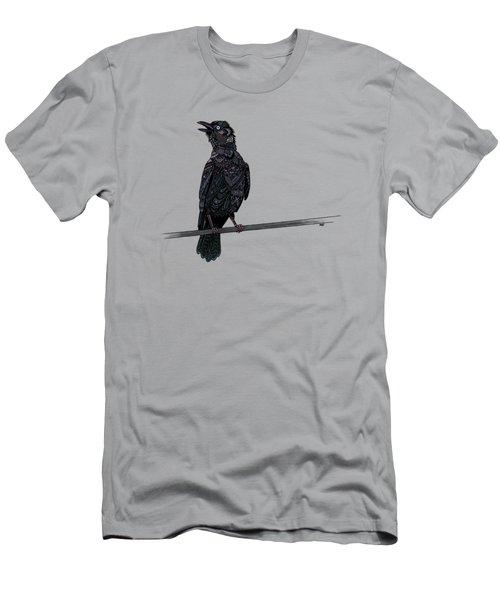 Verklempt Crow Men's T-Shirt (Athletic Fit)