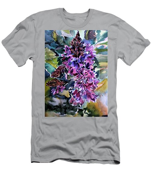 Vervain Wildflowers Men's T-Shirt (Athletic Fit)