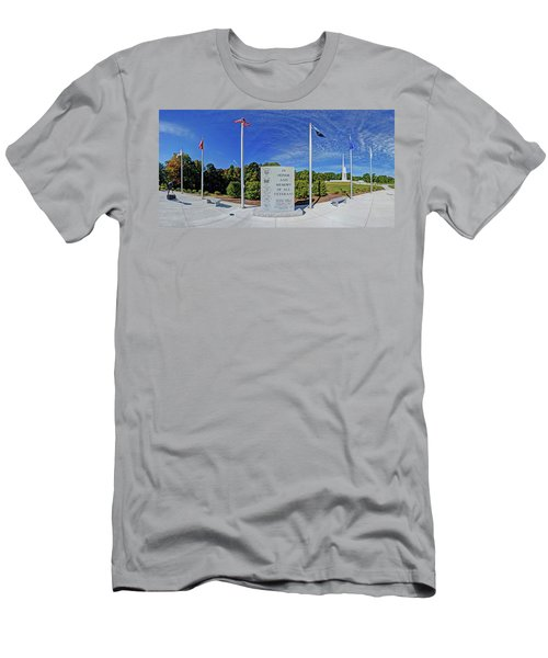 Veterans Freedom Park, Cary Nc. Men's T-Shirt (Slim Fit) by George Randy Bass