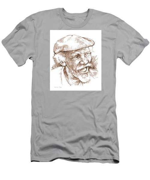 Victor Boa Men's T-Shirt (Slim Fit) by Greg Joens