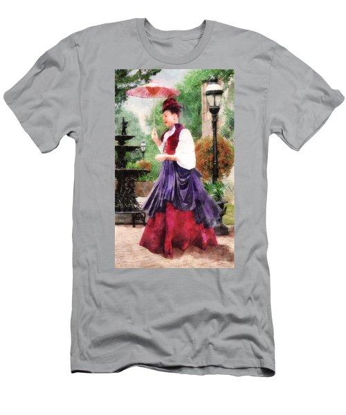 Victorian Lady Men's T-Shirt (Athletic Fit)
