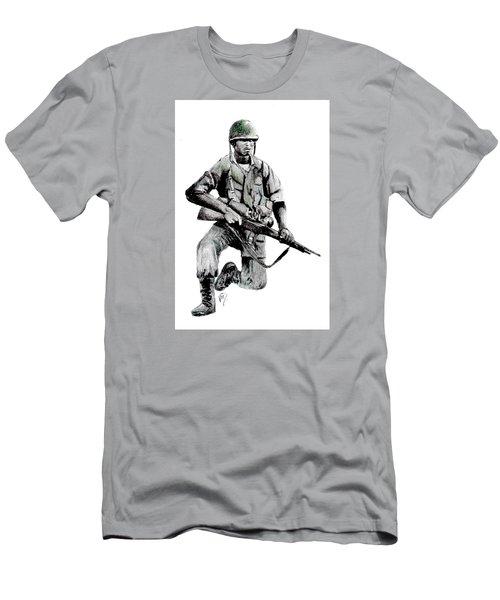 Vietnam Infantry Man Men's T-Shirt (Athletic Fit)