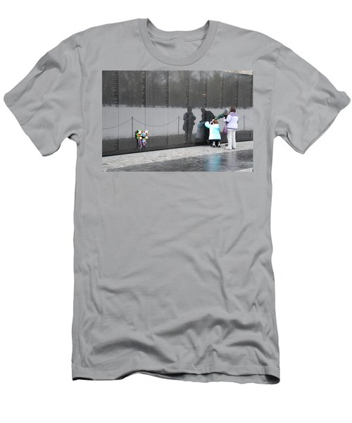 Vietnam Wall Family Men's T-Shirt (Athletic Fit)