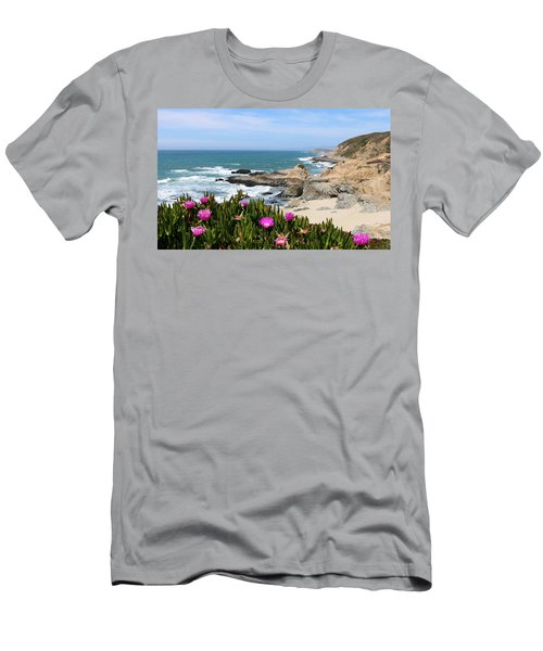 View From Bodega Head In Bodega Bay Ca - 3 Men's T-Shirt (Athletic Fit)