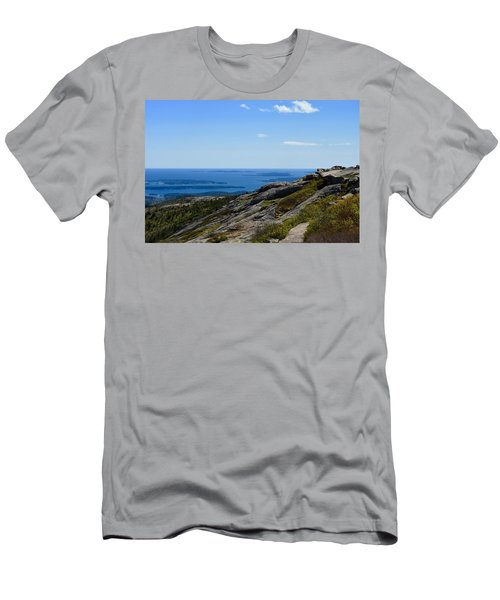 View From Cadillac Mountain Men's T-Shirt (Athletic Fit)