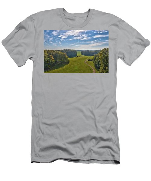 View From Lilac Mountain Men's T-Shirt (Athletic Fit)