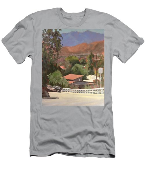 View From Moon Men's T-Shirt (Athletic Fit)