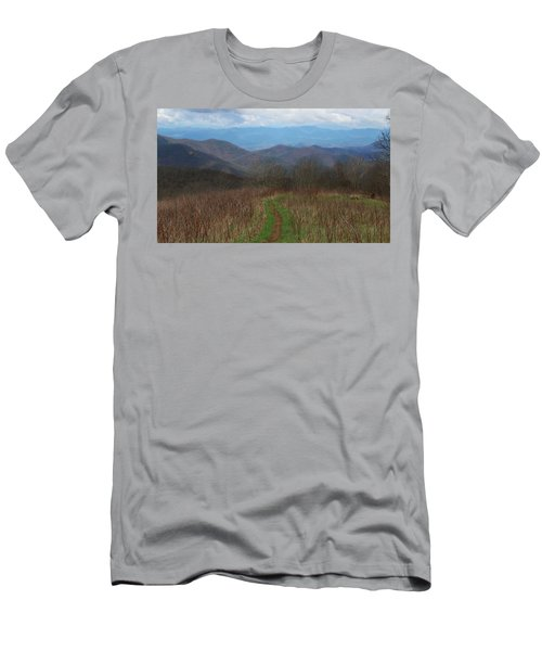 View From Silers Bald 2015a Men's T-Shirt (Athletic Fit)