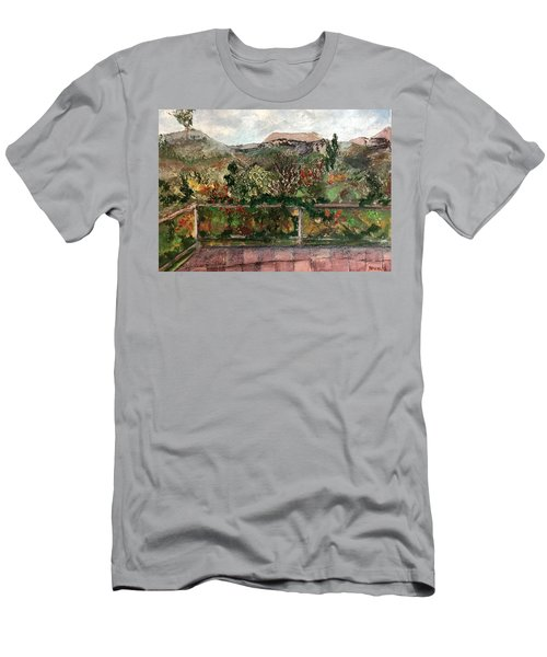 View From The Deck Men's T-Shirt (Athletic Fit)