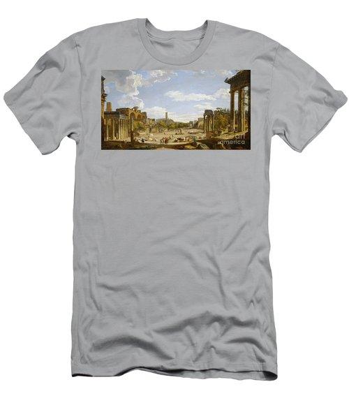 View Of The Roman Forum Men's T-Shirt (Athletic Fit)