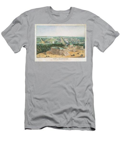 View Of Washington 1852 Men's T-Shirt (Athletic Fit)
