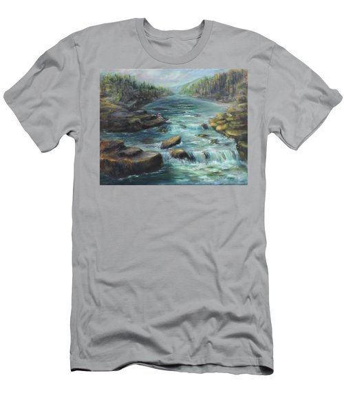 Viewing The Rapids Men's T-Shirt (Athletic Fit)