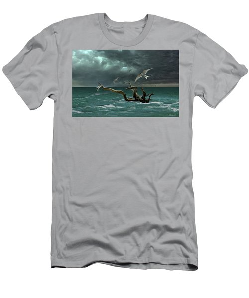 Vigil At Sea Men's T-Shirt (Athletic Fit)