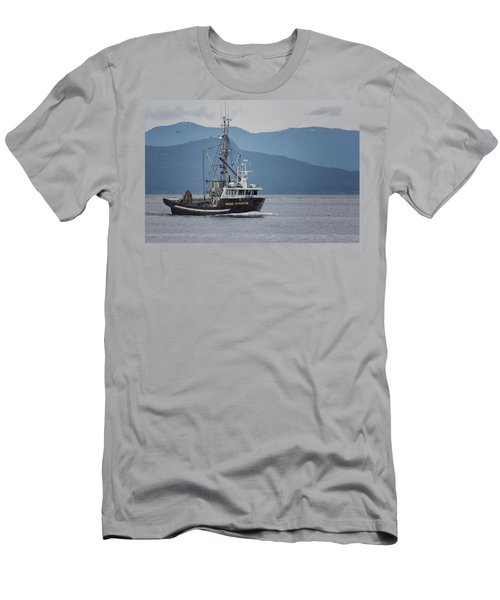 Viking Sunrise At Nw Bay Men's T-Shirt (Athletic Fit)