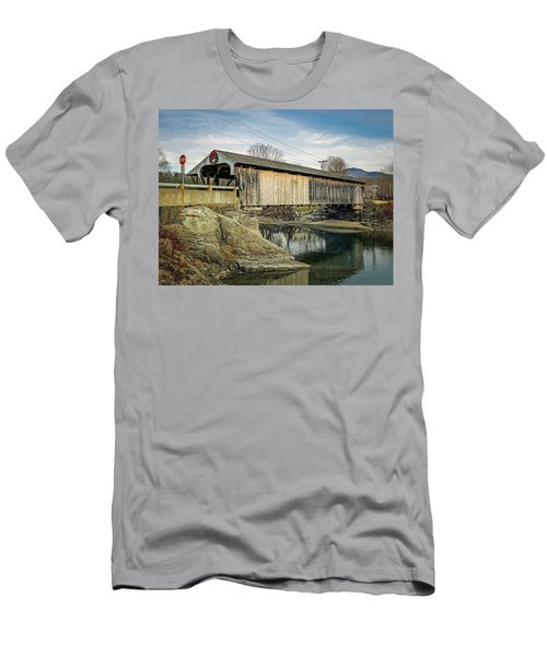 Village Bridge Men's T-Shirt (Athletic Fit)