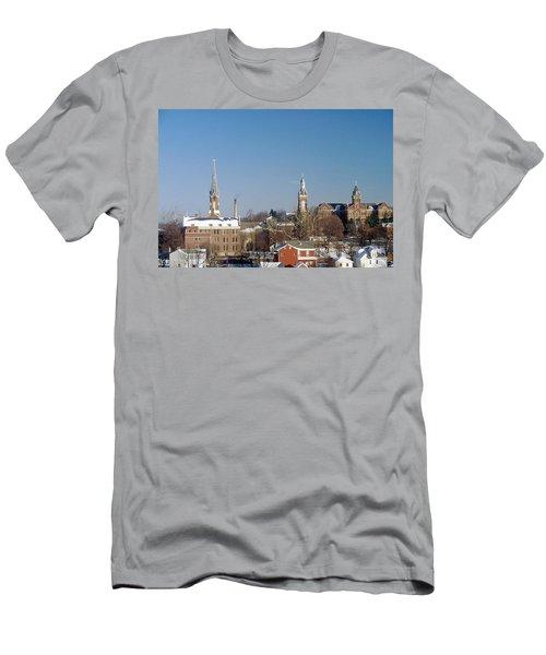 Village Of Spires Men's T-Shirt (Athletic Fit)
