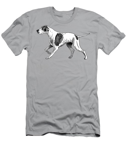 Vintage German Shorthaired Pointer Men's T-Shirt (Slim Fit) by Marian Cates
